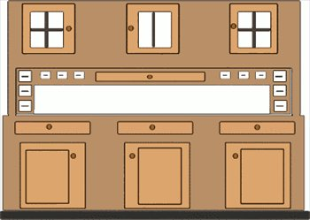 Cupboards clipart #16