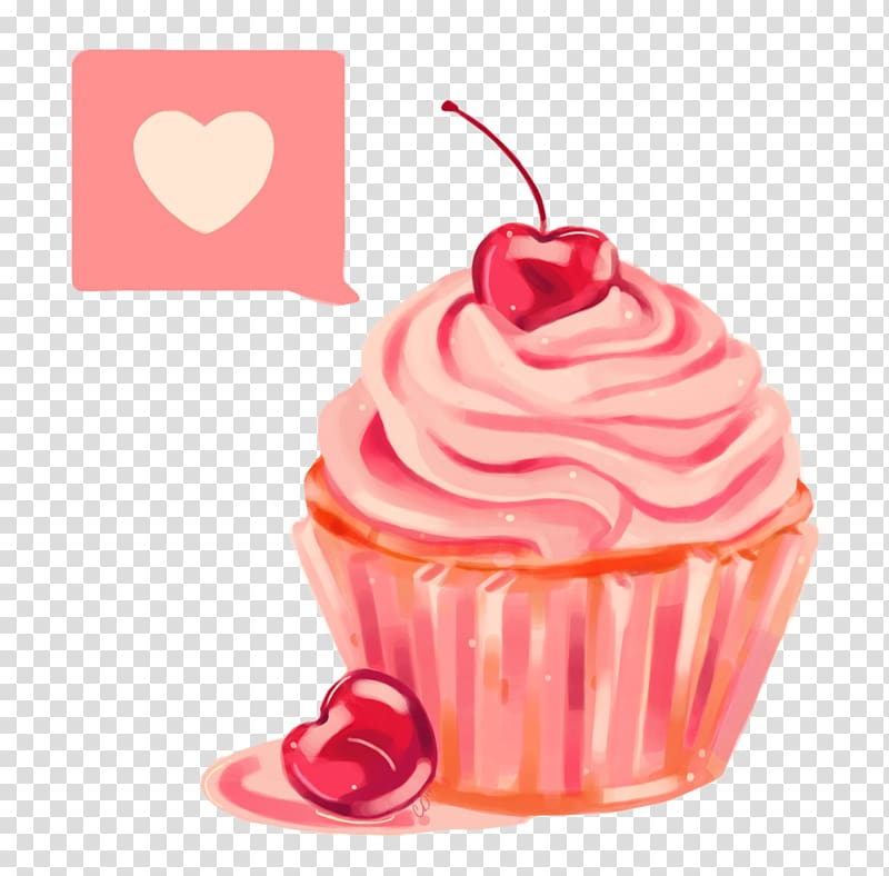 Cupcake Birthday cake , cupcake transparent background PNG clipart.