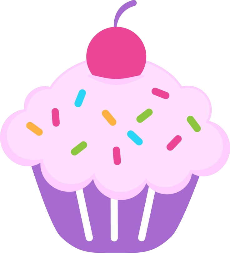 Cupcake Birthday Clipart Cute Abeoncliparts Cliparts Vectors Png.