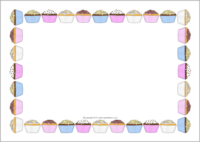 1799 Cupcakes free clipart.
