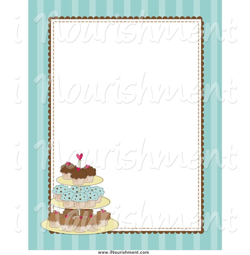 Best Cupcake Border Clip Art #21235.