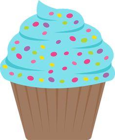 Cupcake Clipart.