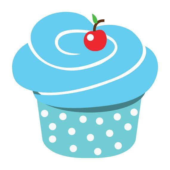 Cupcake Clip Art.
