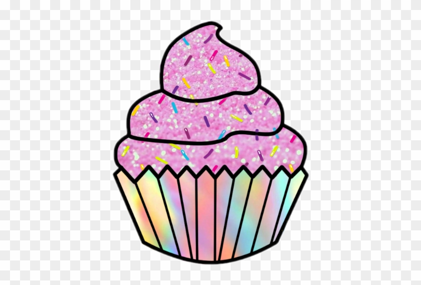 Scpink Pink Cupcake Sprinkles Rainbow Glitter Pinkcupca.