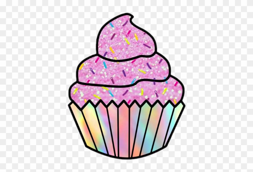 Scpink Pink Cupcake Sprinkles Rainbow Glitter Pinkcupca.