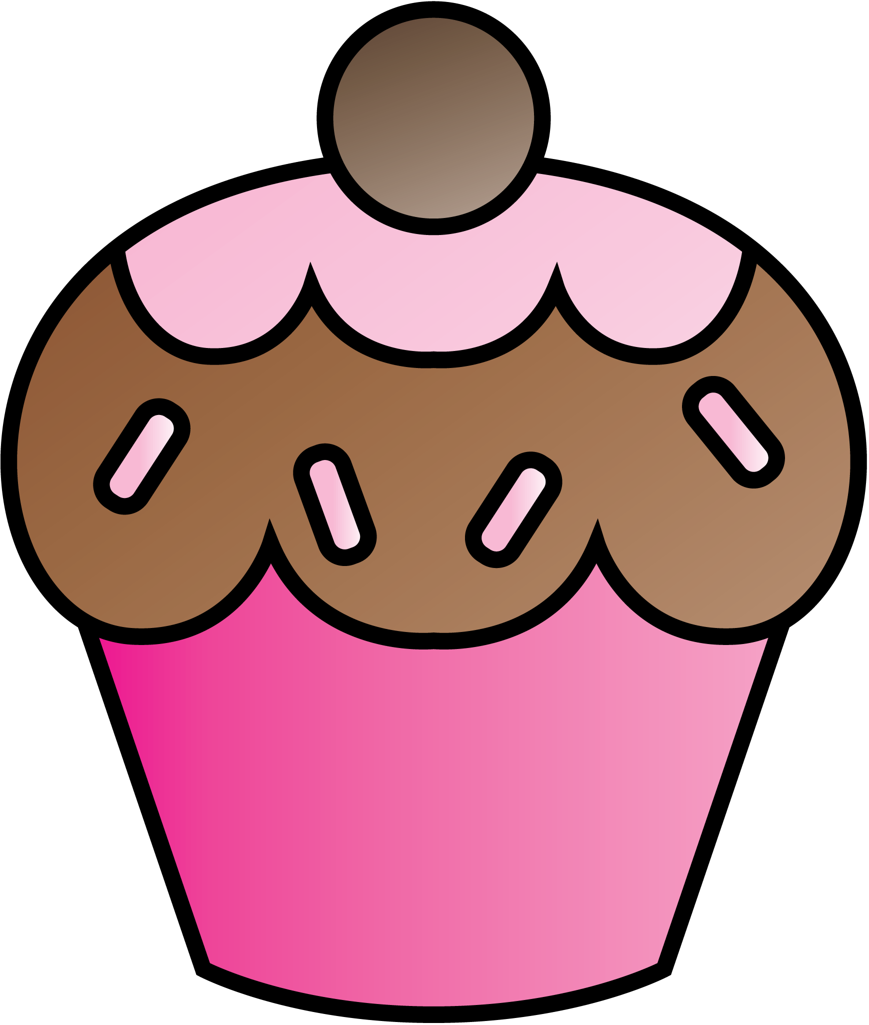 Cupcakes clipart border free clipart images 2.