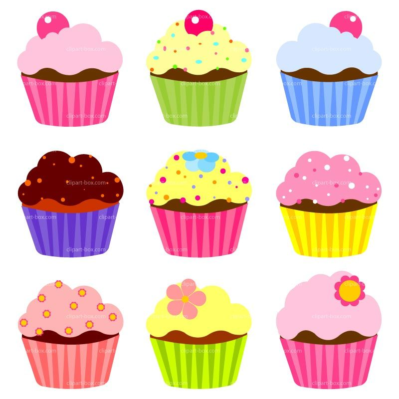 Cupcake clipart free large images.