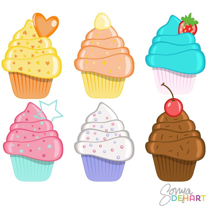 Free Cupcake Cliparts, Download Free Clip Art, Free Clip Art.