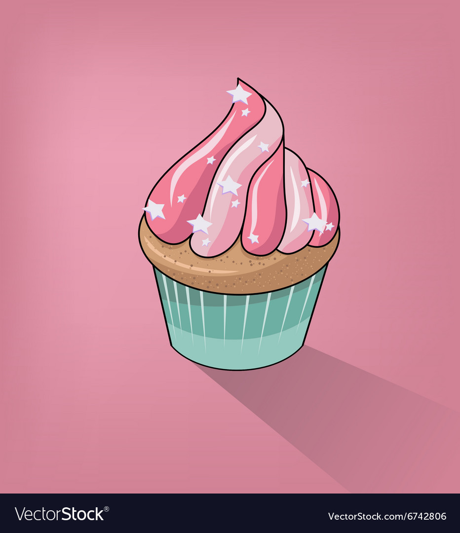 Cupcake Clipart Background.