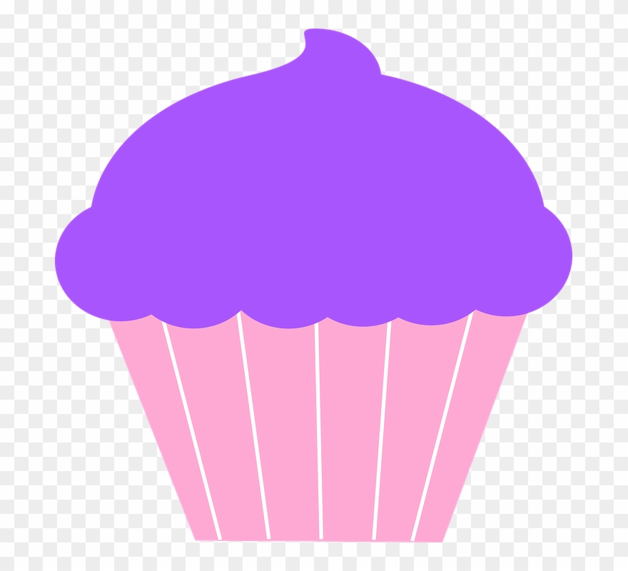 Frosting Clipart Plain Cupcake.