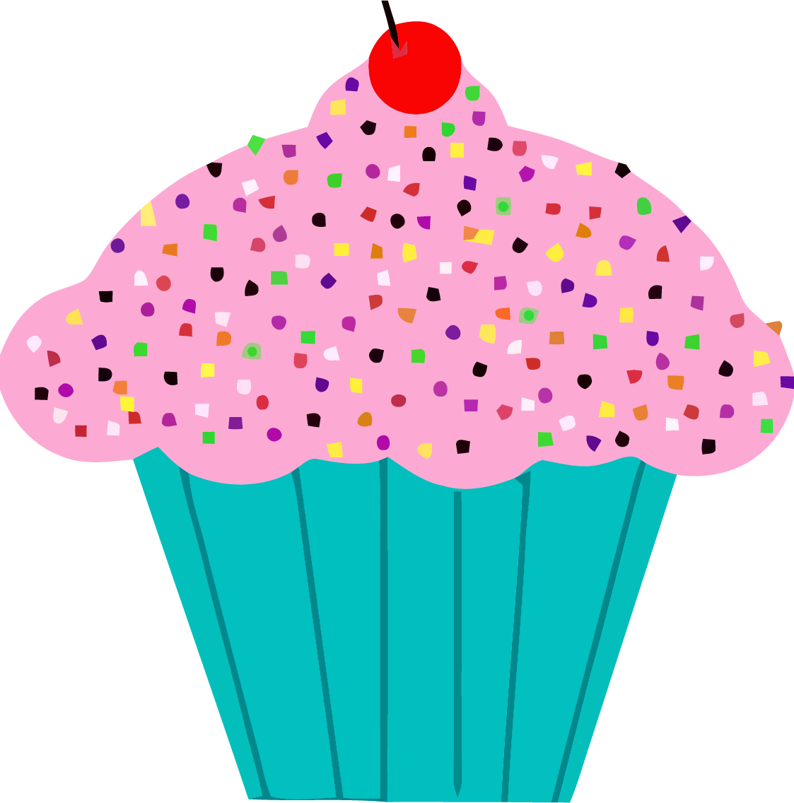 Cupcake Graphics Clipart.