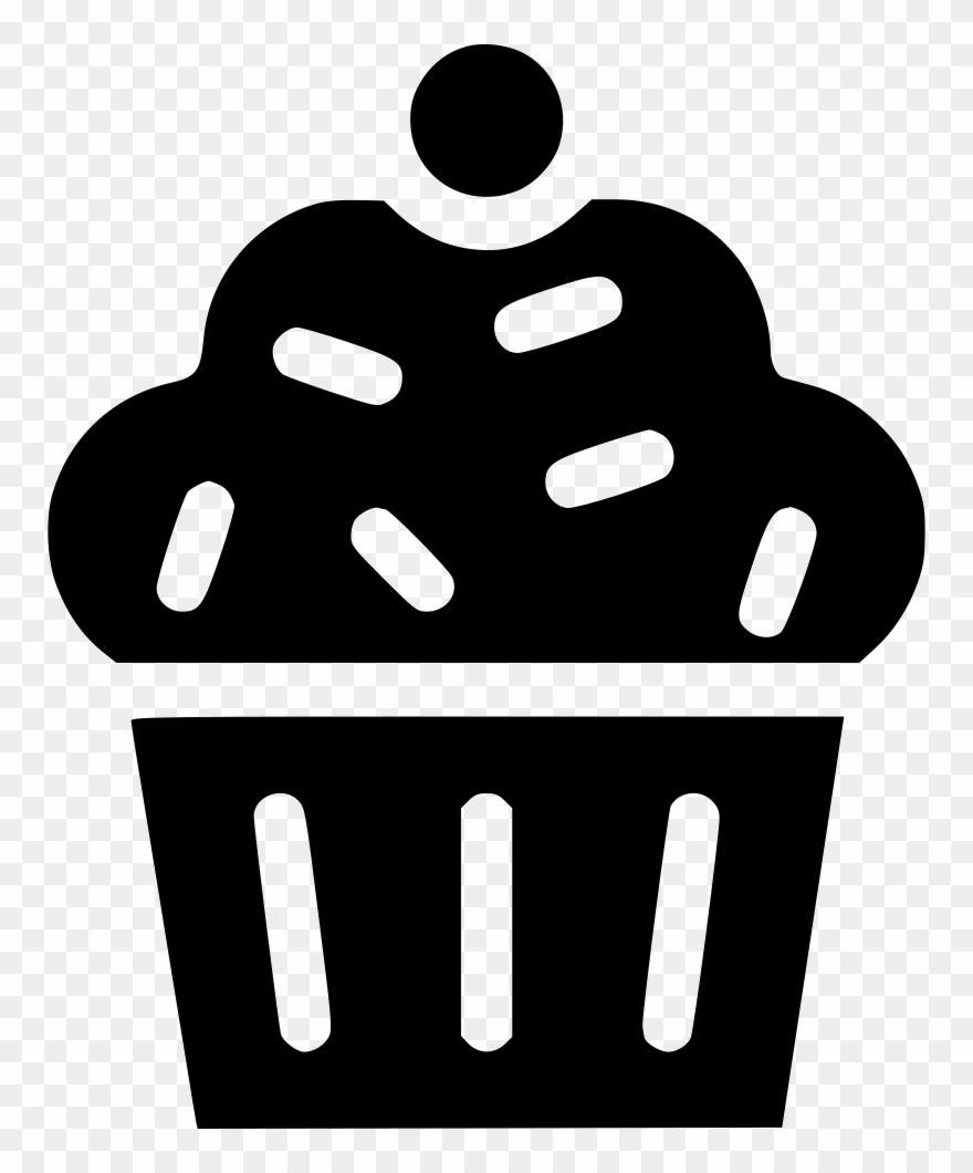 Muffin Cup Cake Dessert.