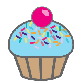 Free Cupcake Cliparts, Download Free Clip Art, Free Clip Art.
