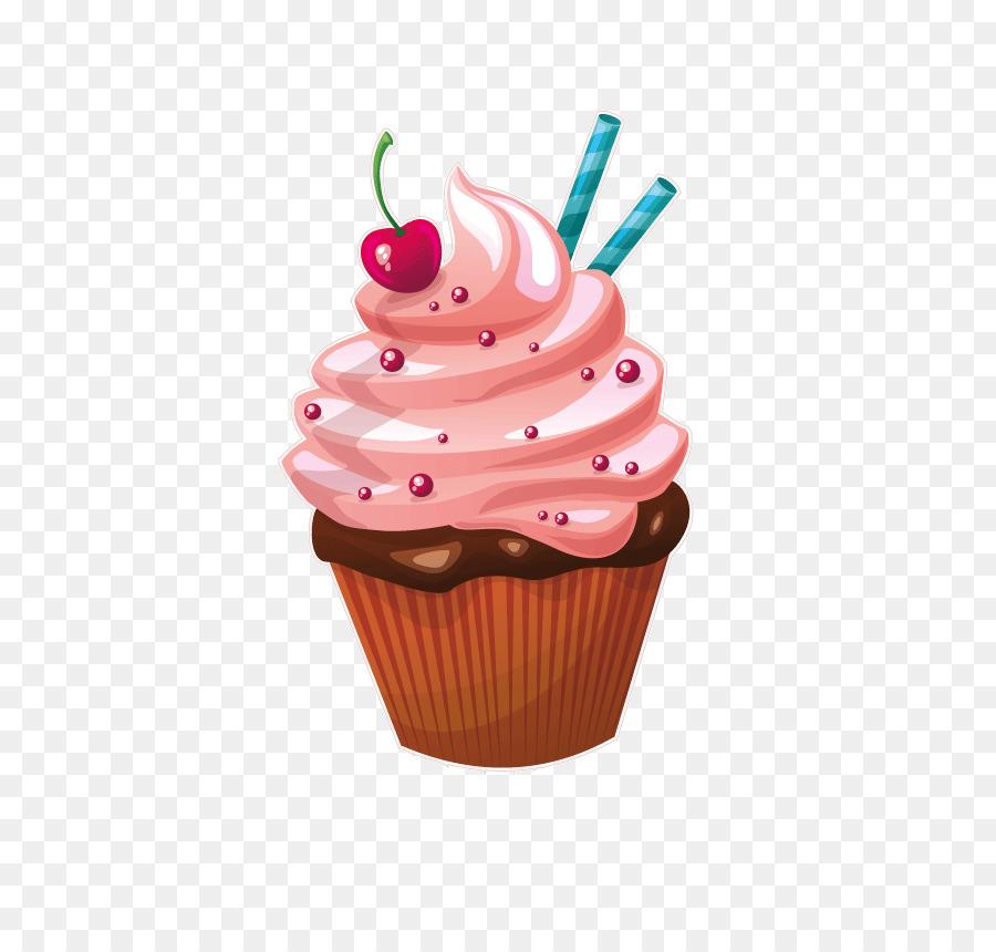 Cupcake Bakery Muffin Birthday cake Cream.