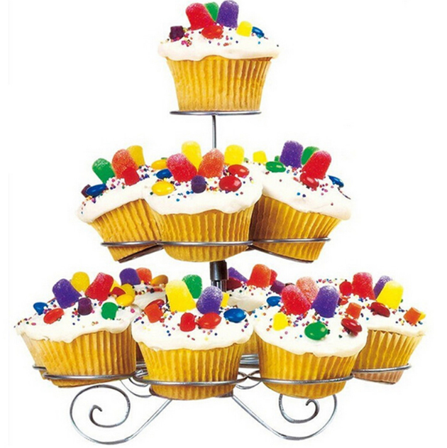 Online Buy Wholesale metal tiered cupcake stand from China metal.