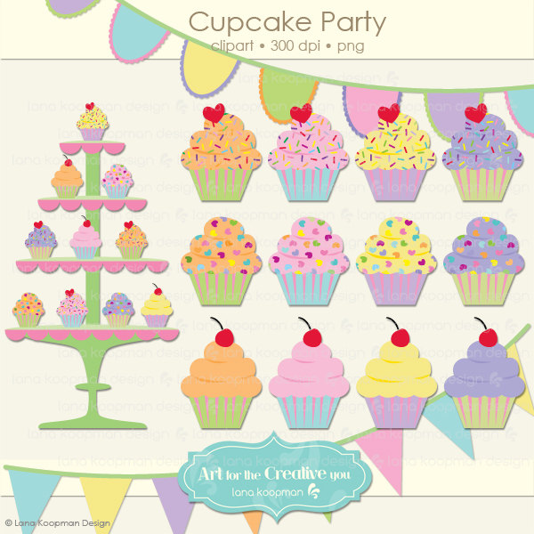 Cupcake Stand Clipart (51+).