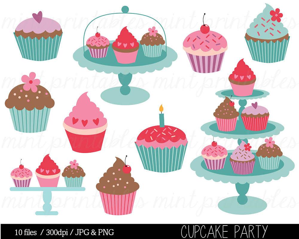 Cupcake Clipart Cupcake Clip Art Birthday Clipart Birthday.