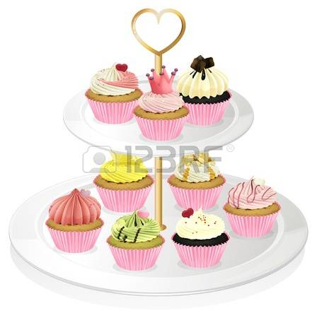 Cupcake Clipart Stock Photos Images. Royalty Free Cupcake Clipart.