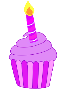 Free Cupcake Candle Cliparts, Download Free Clip Art, Free Clip Art.