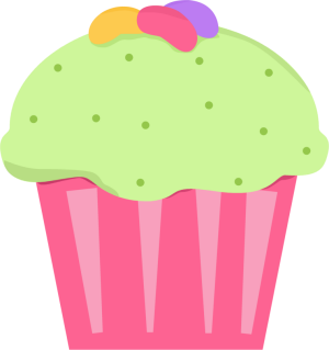 Cupcake drawings and cupcakes clipart.