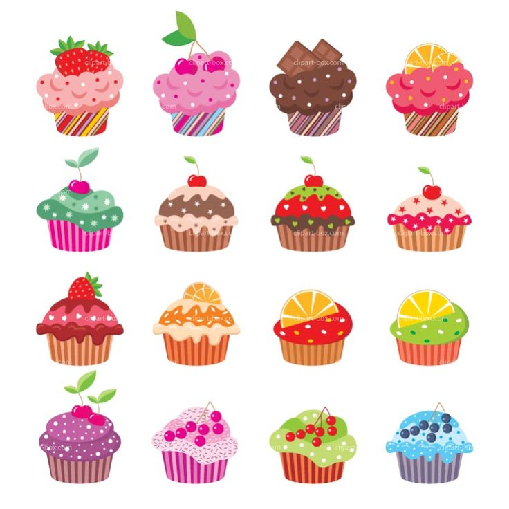 Cupcakes clipart wallpaper.