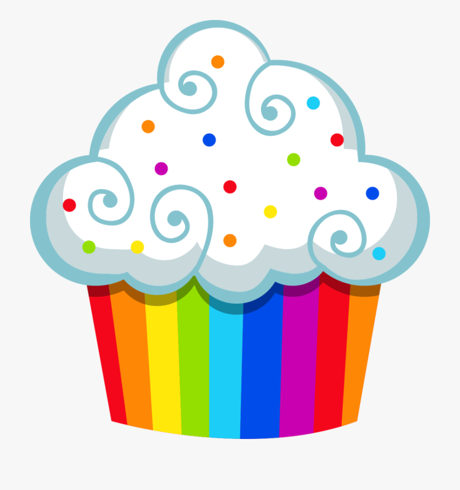 Cupcakes Clipart Candyland.