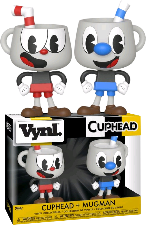 Cuphead & Mugman Vynl.