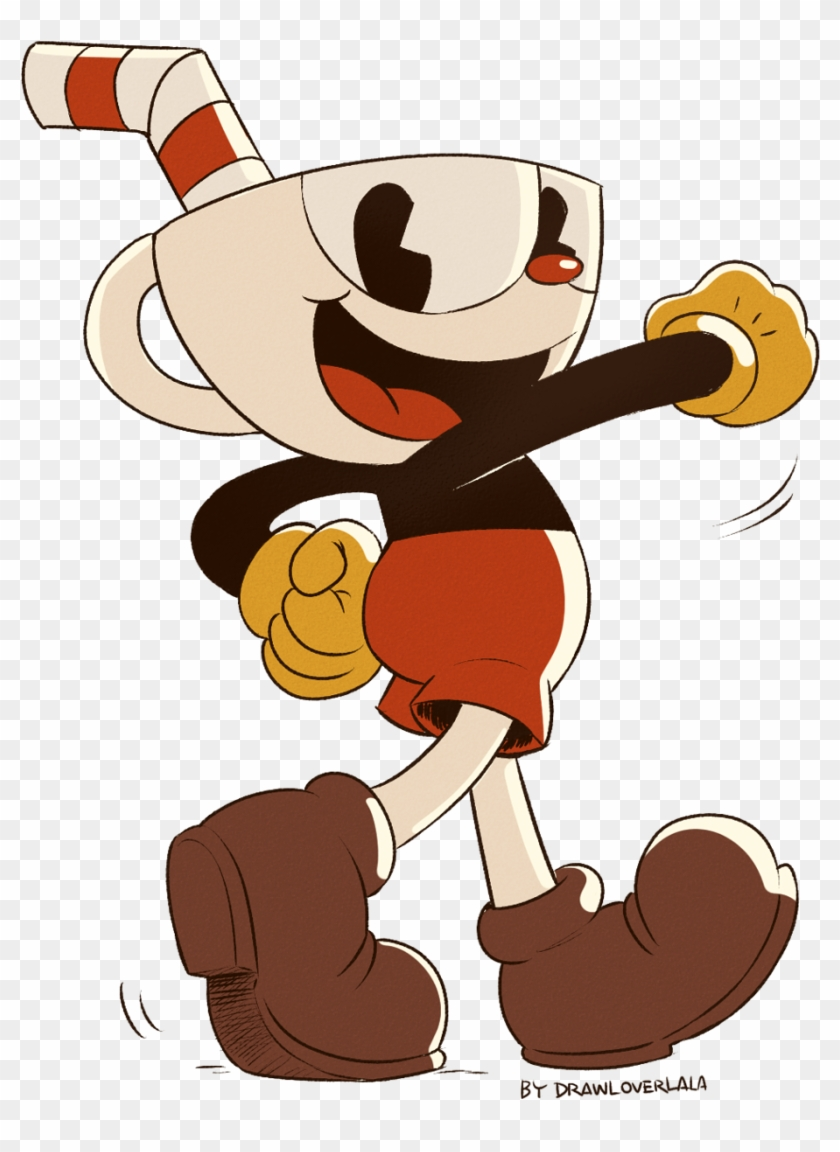 A Transparent Cuphead Doodle I Did A Week Ago And Didn't.