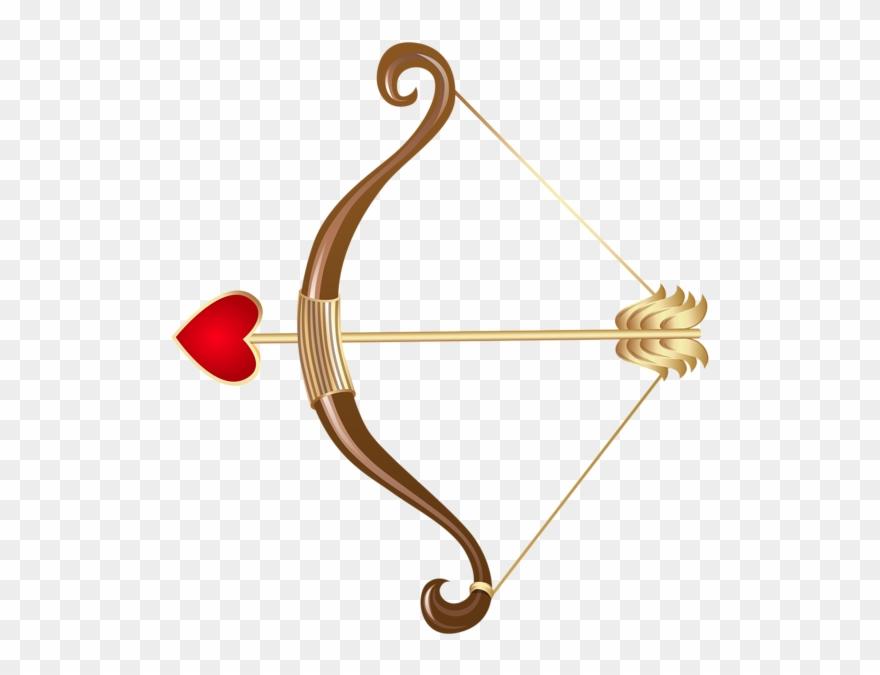 Cupid Bow Transparent Png Clip Art.