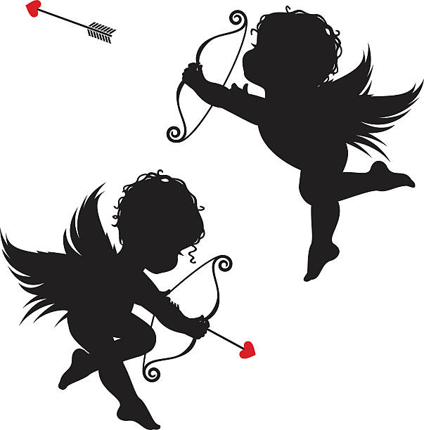 Best Cupid Arrow Illustrations, Royalty.