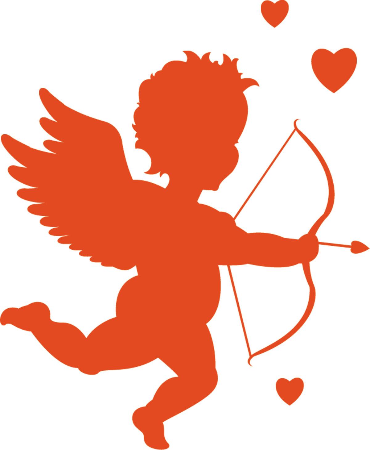 Cupid Arrow Clipart.