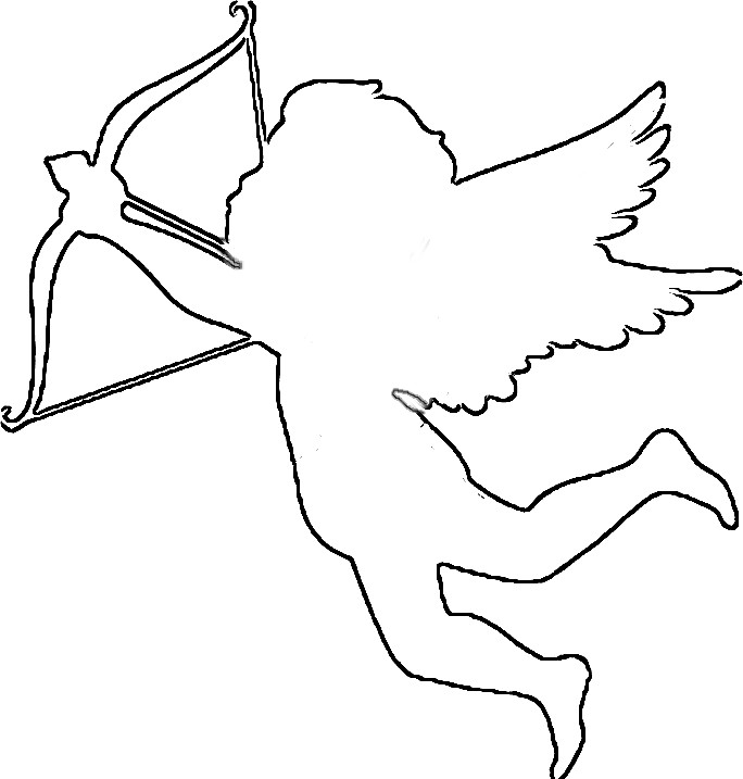 Cupid Clipart Black And White Clipartoons. Snowjet.co.