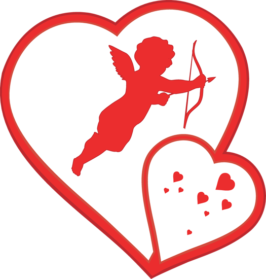 Printable Cupid Clipart Activity Valentine Panda.