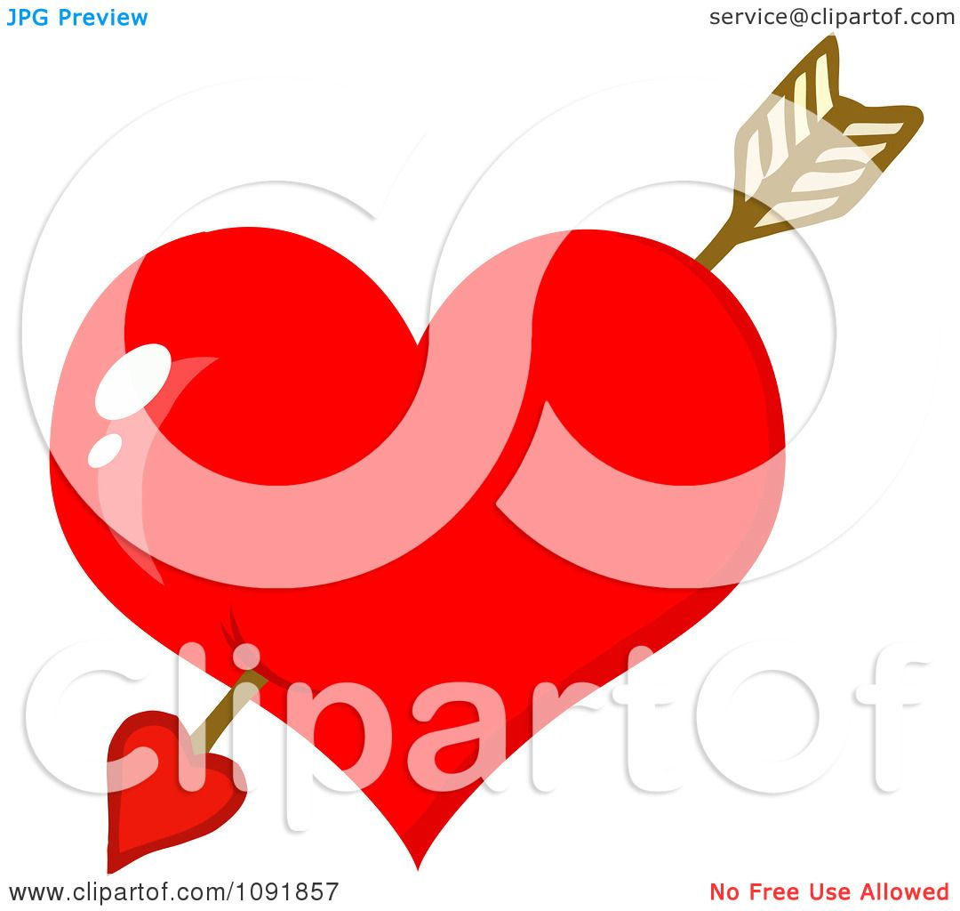 cupid heart clipart #15