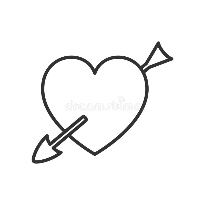 Cupid Outline Stock Illustrations.