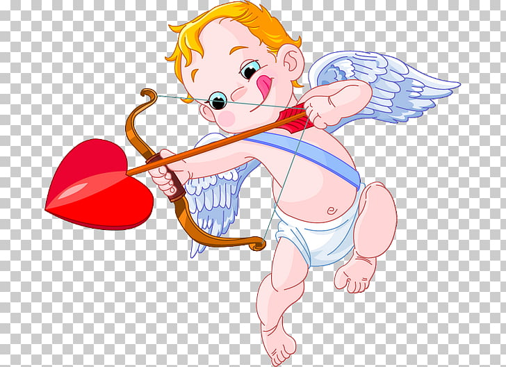Cupid and Psyche Valentine's Day , cupid PNG clipart.