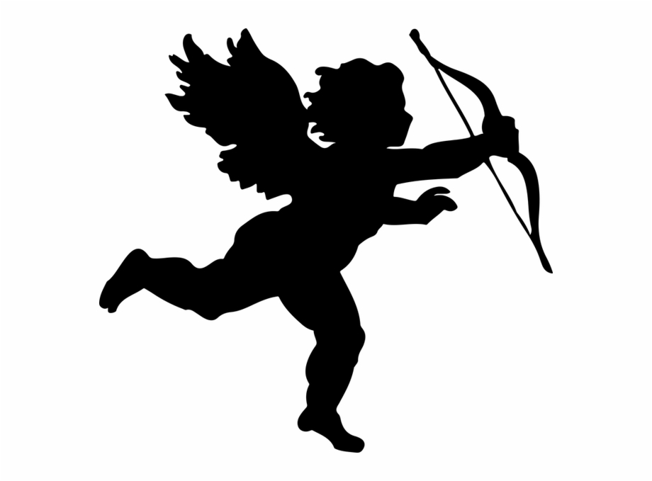 Cupid Silhouette Free PNG Images & Clipart Download #184774.
