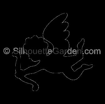 Cupid Silhouette.