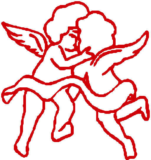 Funny Cupid Angeles Clipart.