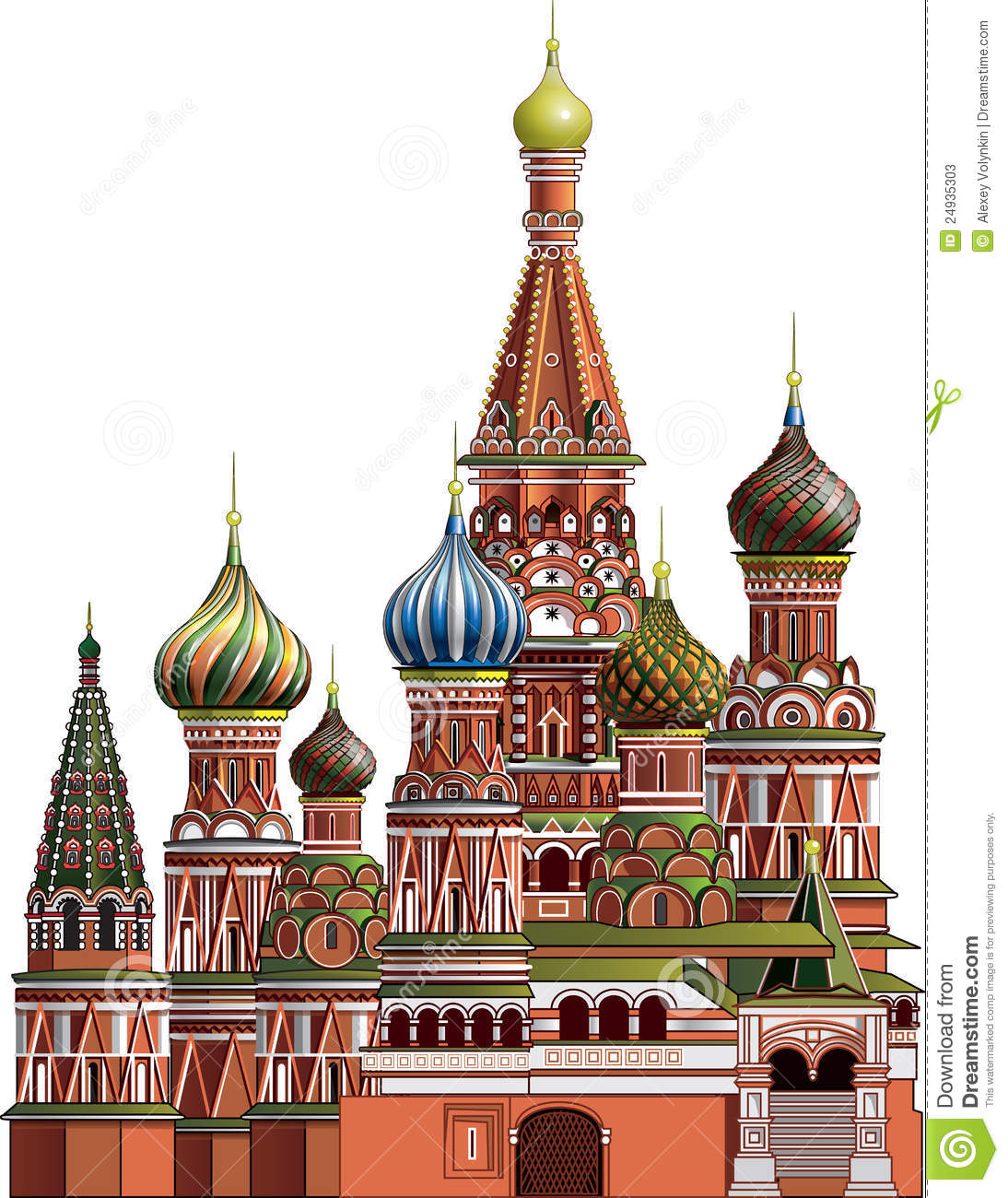 St basils cathedral clipart.