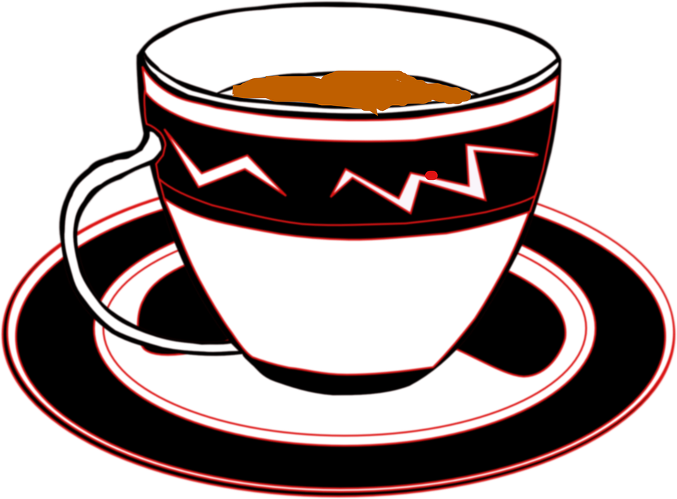 Free vector graphic: Tea, Cup, Saucer, Drink, Cuppa.