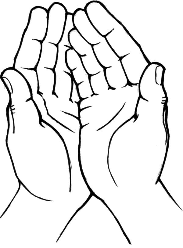 Image result for cupped hands release heart.
