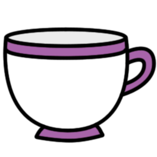 Free Purple Cups Clipart.