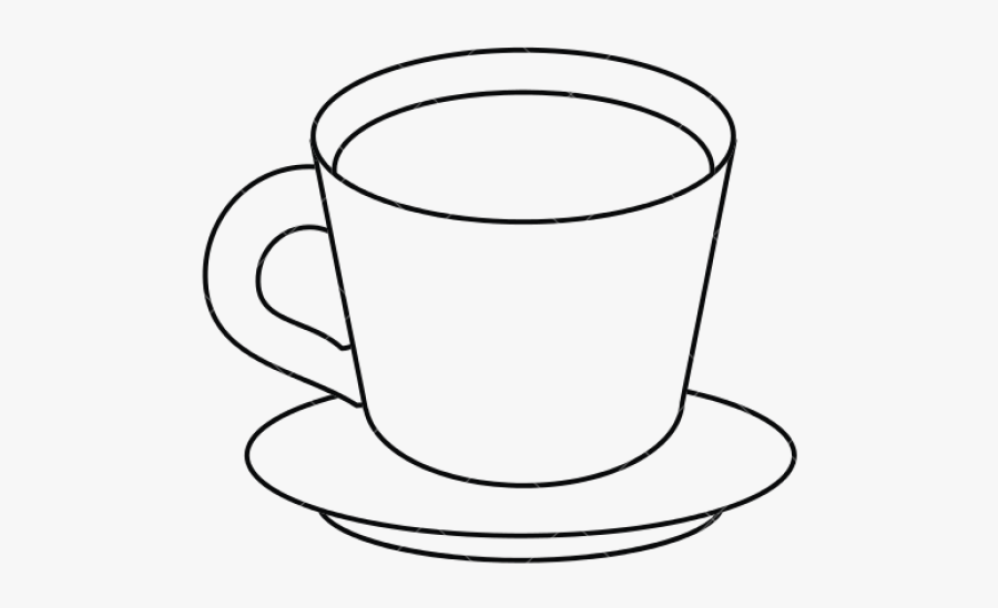Cup Clipart Black And White , Free Transparent Clipart.