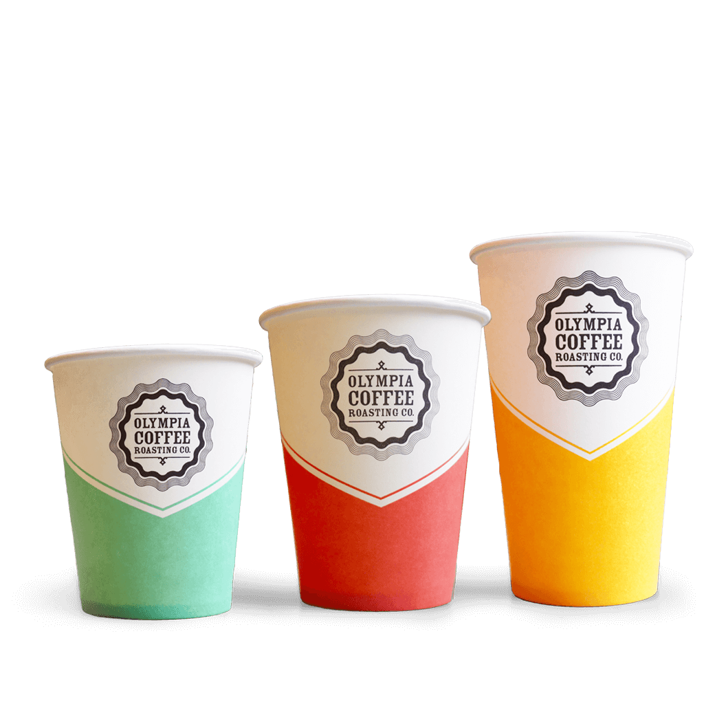Logo Branded Paper Cups.