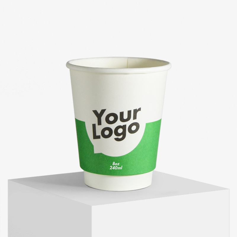 Double wall paper cups with print from just 1.000 pcs. Get your offer!.