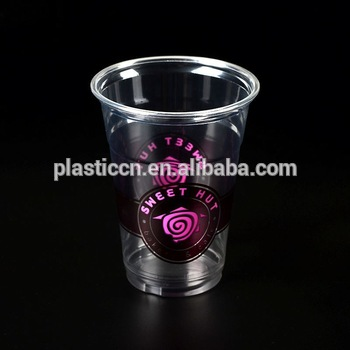 Clear Plastic Dessert Cups/ Print Logo/ 9oz Plastic Cup.