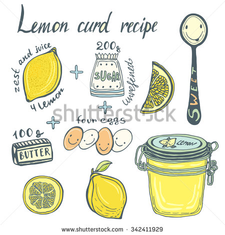 Lemon Curd Stock Vectors, Images & Vector Art.