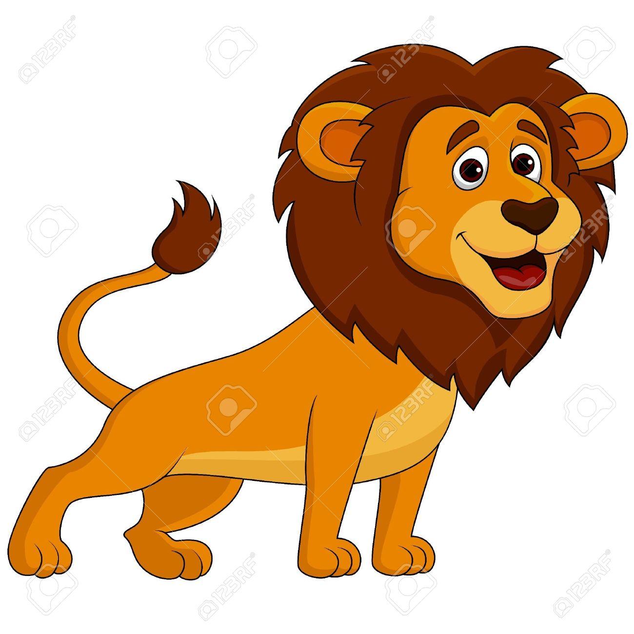 Cute Clipart Lion.