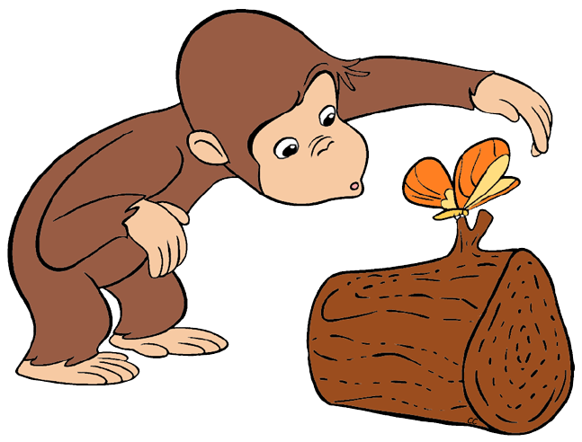 Curious George Clip Art Images.